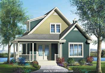 Craftsman House Plans at Dream Home Source | Craftsman Style Home