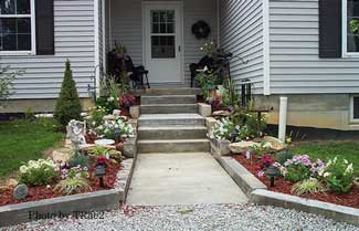 Landscaped Walkway Design