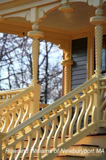 Decorative Columns and railings