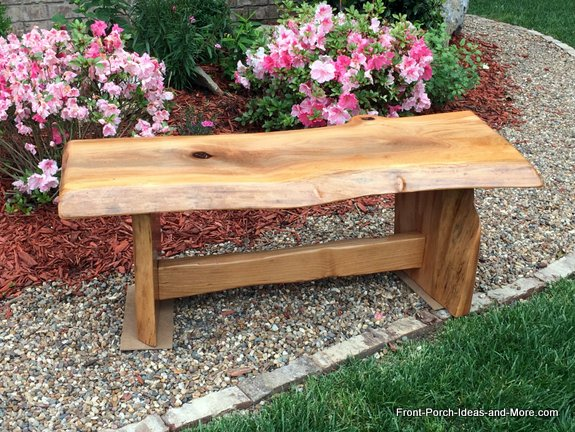 beautiful diy garden bench for yard or porch