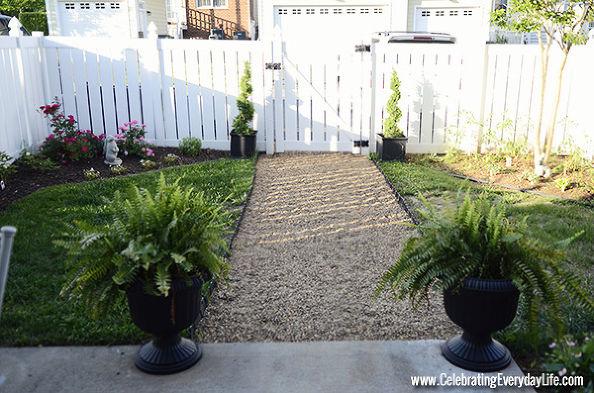 #3: Build A Pea Gravel Walkway   Easy!