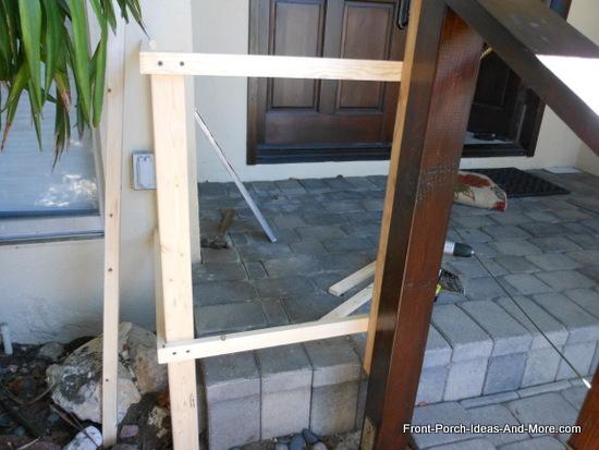 How To Build A Porch Gate
