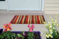 Colorful Door Mat