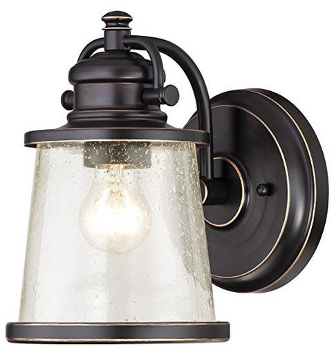 Emma Jane outdoor wall lantern - from Amazon