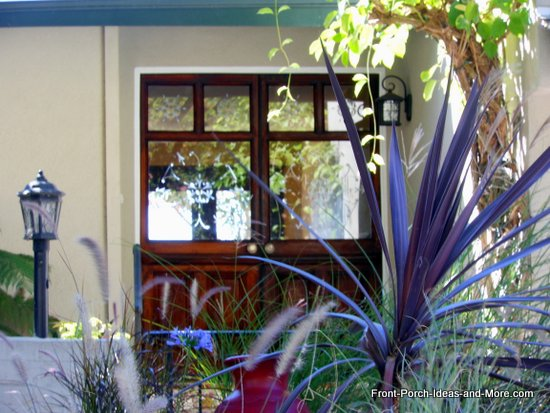 beautiful southern california porch landscaping