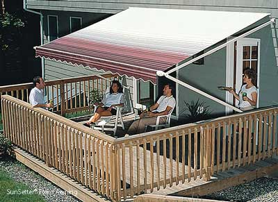 SunSetter Fixed Awning