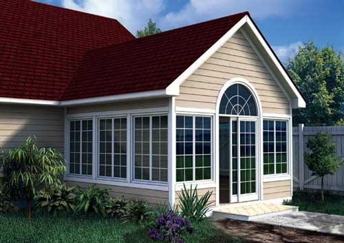 DIY Four season porch plan with sliding doors