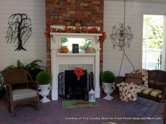 Fox Country Store autumn decorating contest entry