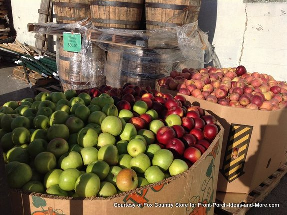 Beautiful apples for pies, applesauce and just plain eating