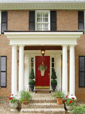 Front Door Designs on To Find The Right Patio Design For Your Small Porch