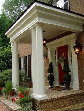 Susan's new front porch - beautiful!