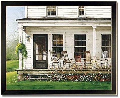 Front Porch Rocker Art