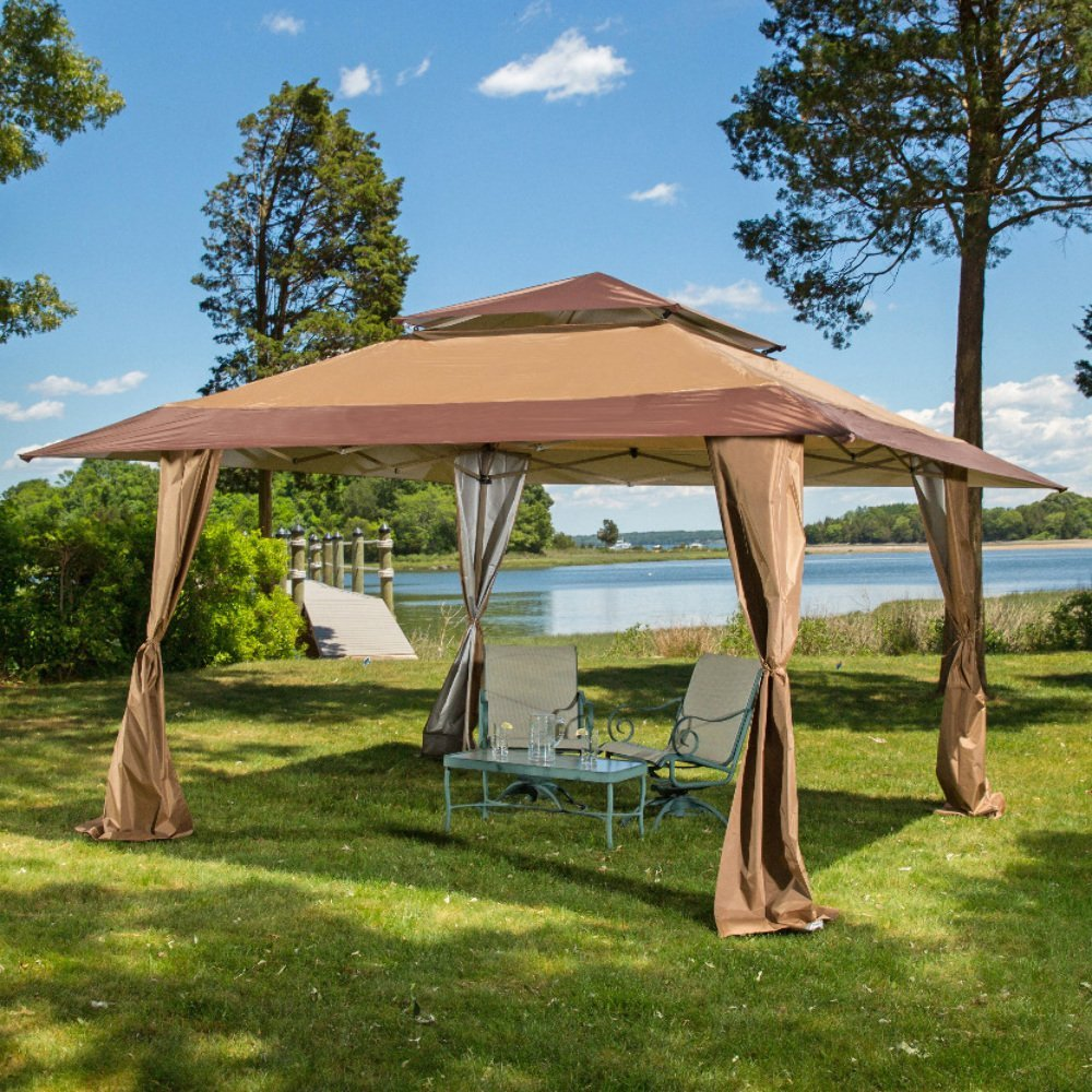 Make yourself a covered porch with this wonderful canopy from amazon