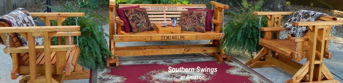 glider swing combination by southern swings at Amazon