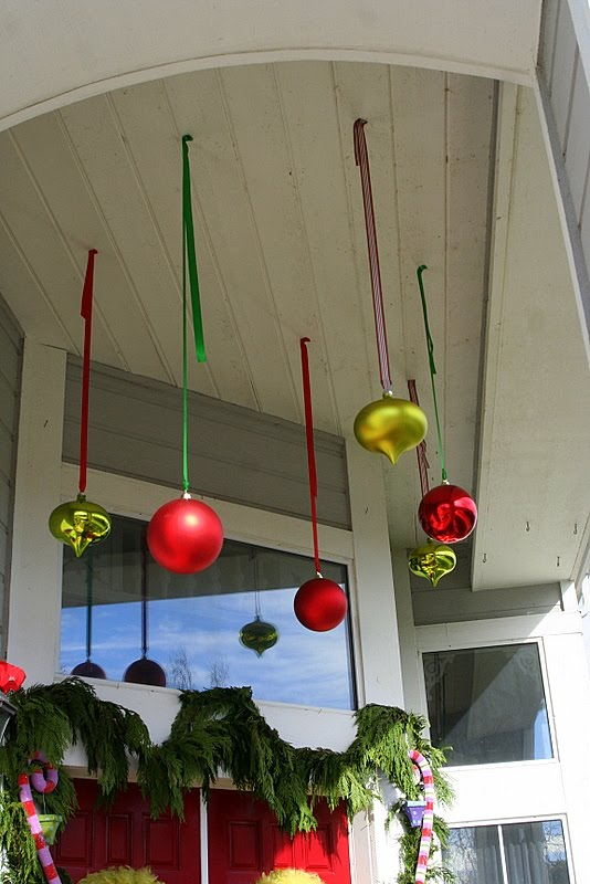 Ornaments hung from ceiling