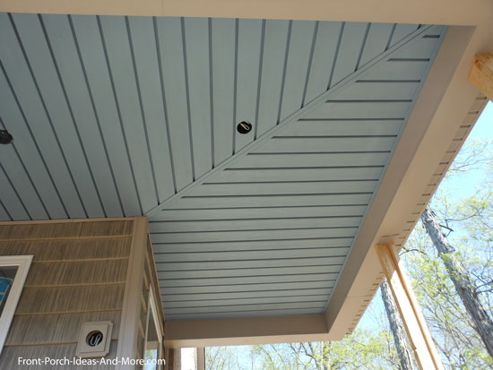 Vinyl siding ideas joy studio design gallery best design for Balcony ceiling