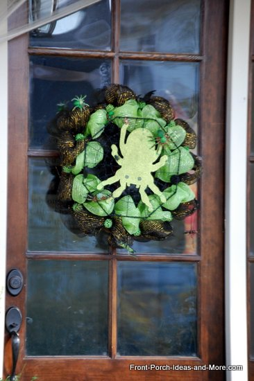 decomesh Halloween wreath