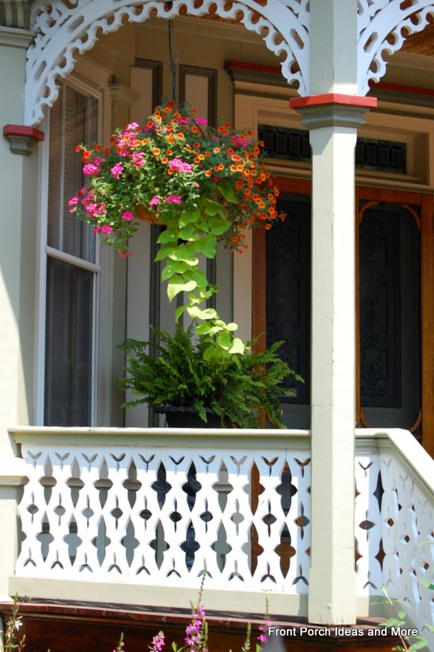 Balcony Flowers Ideas Railings