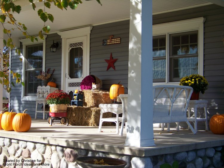 Christine's harvest porch