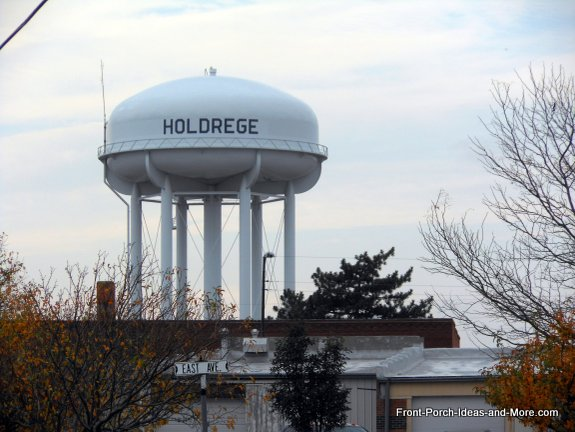 water tower in holdrege nebraska