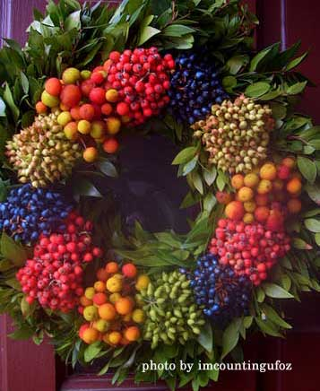 hand-made wreath