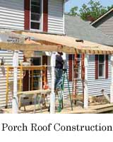 build a roof on your porch