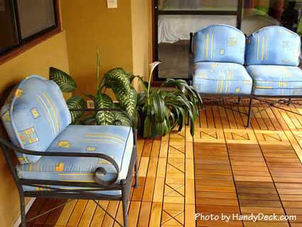 Enclosed Porch Flooring Ideas