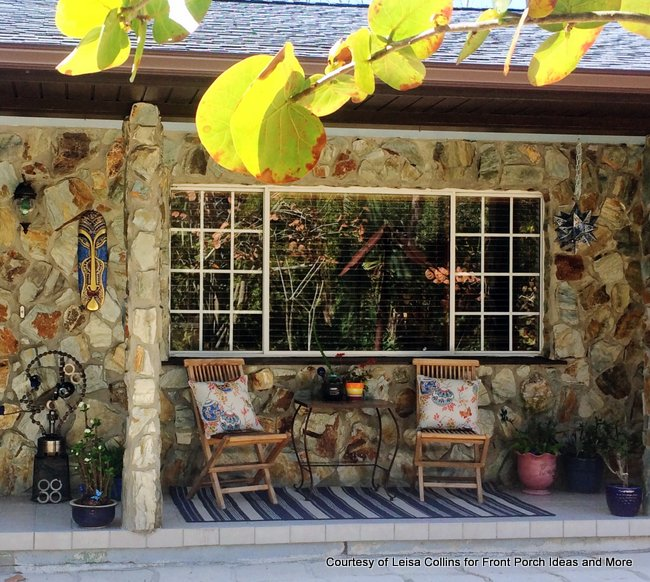 Leisa Collins beautiful Florida porch