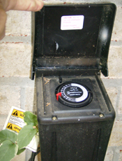 Outdoor Lighting Timer Box Bclight