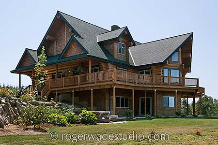 Magnificent Log Home