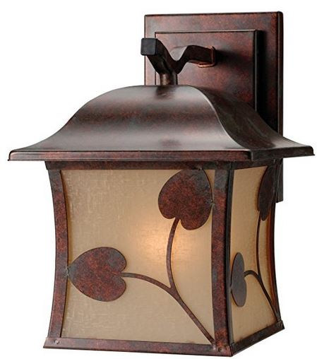 Madison outdoor wall lantern - from Amazon