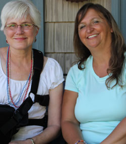 Liz of Hoosier Homemade and me