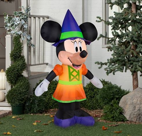 Inflatable Minnie Mouse for Halloween