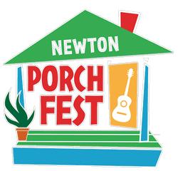 Newton MA porchfest logo