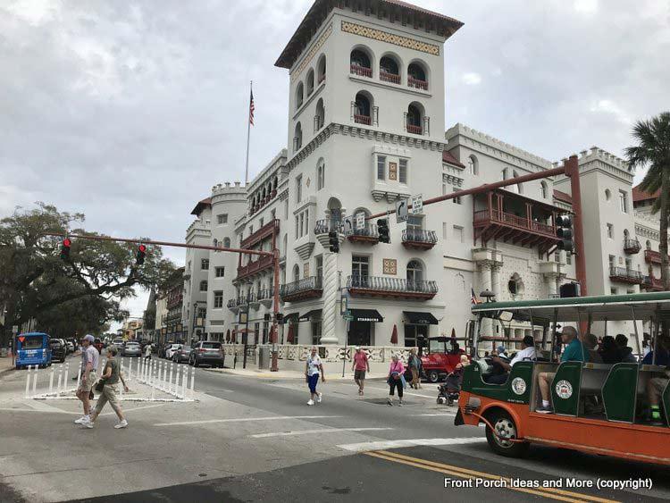 St. Augustine FL - trolley rides