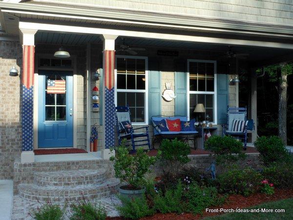 our patriotic front porch