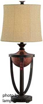 decorative table lamp for front porch