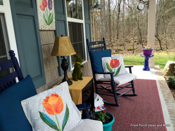 A fresh spring decorating idea - tulips!