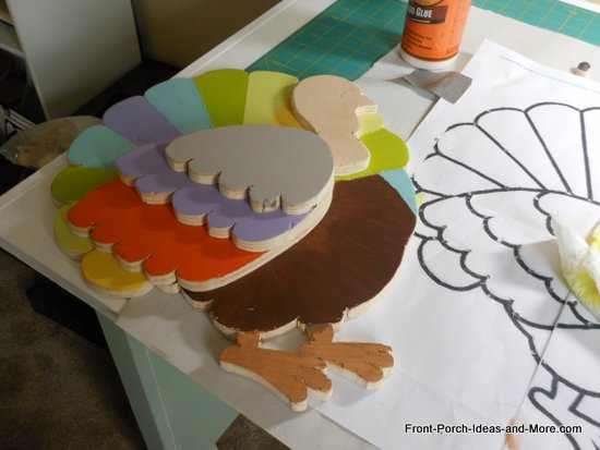Thanksgiving turkey project tutorial