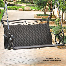 patio swing for two persons