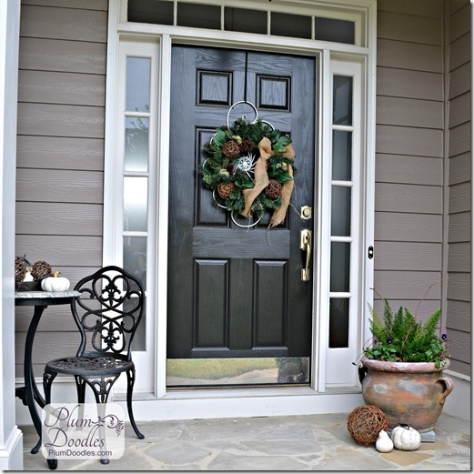 Plum Doodles: Decorate Front Porch for Fall