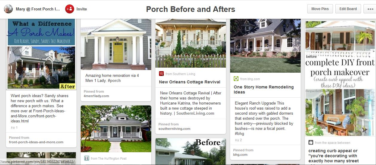 before and afters on pinterest