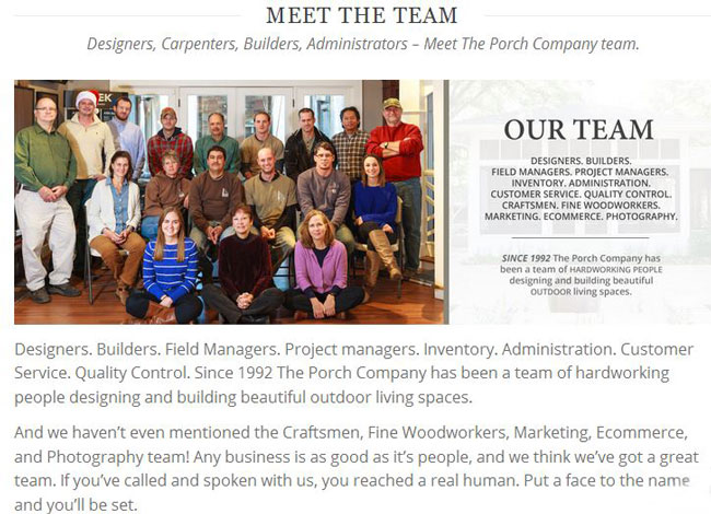 The Porch Company Bio