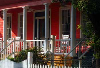 Great painted porch