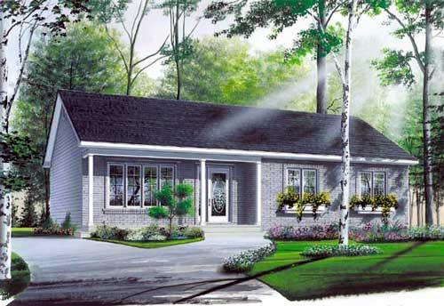home front porch plans