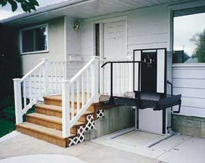 Lovely Wheel Chair Porch Lift Bruno Wheel Chair Lifts Vertical Wheel Chair Lift