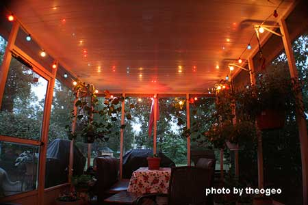 outdoor porch lighting ideas. party lights on the porch outdoor lighting ideas