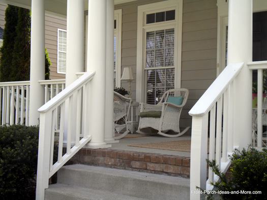 Front porch railings designs joy studio design gallery for Front balcony railing