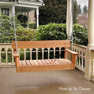 Unique Wooden Porch Swings Ideas Home Design Elements