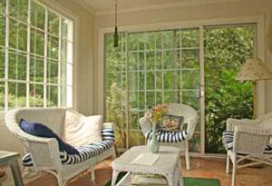 3-season porch wicker furniture